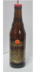 Rampant Beer Bottle